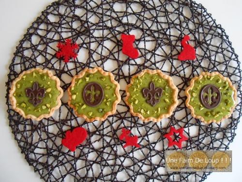 Tartelettes à la pistache