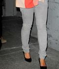 Beyonce trés chic sortant de son bureau avec baby Ivy