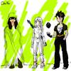 De gauche à droite: le Hibou, Skye, Chiki