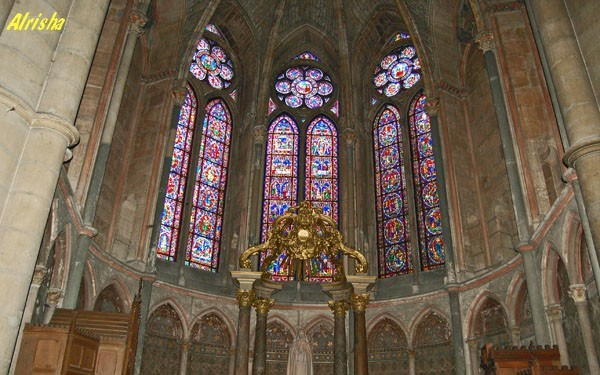 Champagne-Ardenne Marne Reims cathedrale 07