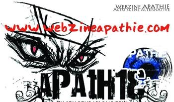 Webzine Apathie - Bannière