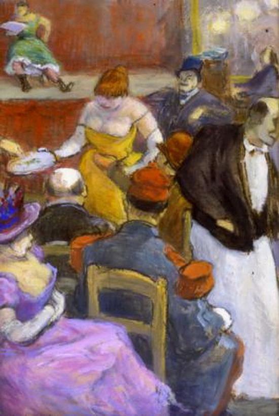 Henri-Gabriel Ibels, Au café-concert