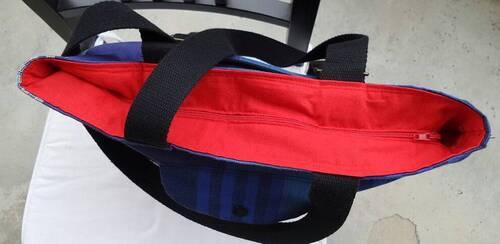 Coudre un sac à main modulable en sac à dos