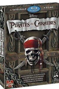 Quadrilogie Pirates des Caraïbes