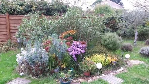 Le Jardin en Octobre