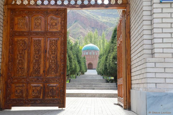 Mausolée du poète Rudaki dans son village natal de Pendjikent