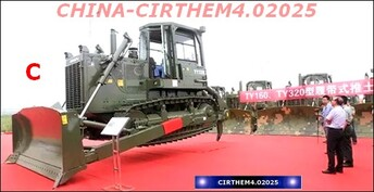 CHINE: une armée de bouteurs!.