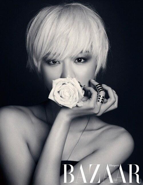 Lee Yoon Hee pour Harper's Bazaar