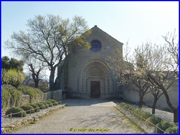 Le monastère de Ganagobie
