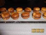 "Macarons façon "" Rocher praliné """
