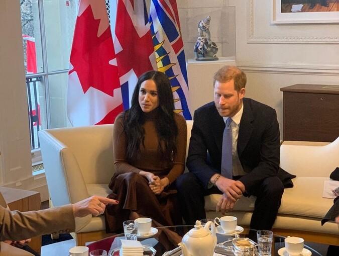 Harry et Meghan au Canada
