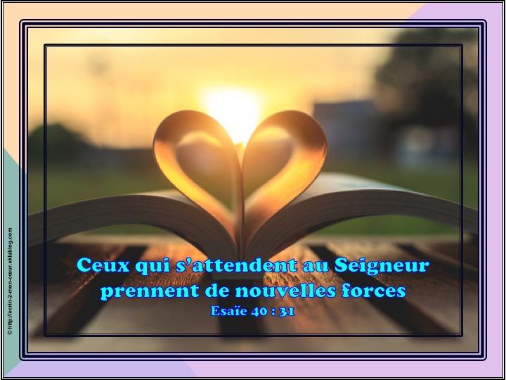 Ronde Versets du coeur 122