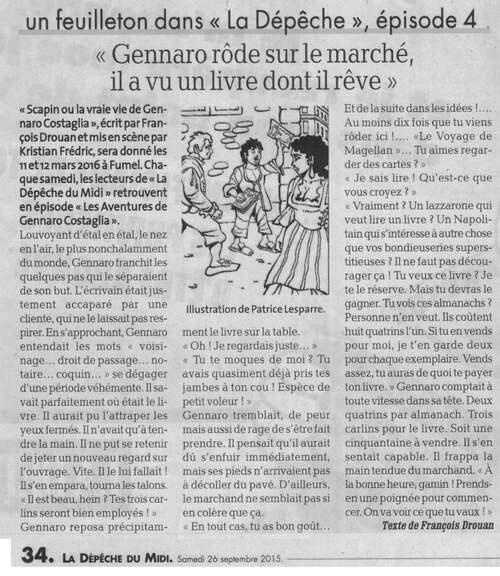 Les aventure de Gennaro Costagliola / Episode 4 / La dépêche du Midi