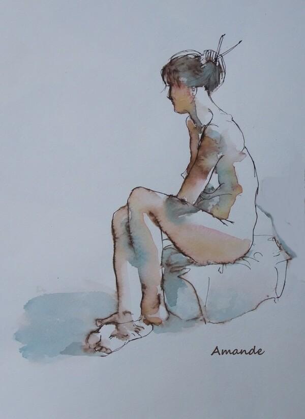 Mercredi - Pensive