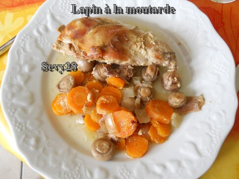 Lapin à la moutarde mijotcook