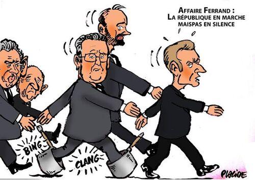 Les casseroles de Macron ressemblent à celle de la Hollandie..!