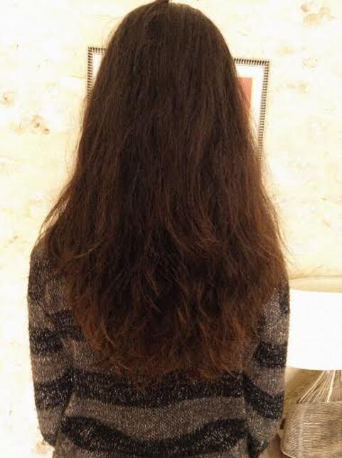 Un kardoune pour mes cheveux