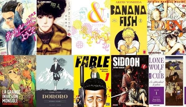 Top Mangas lus en 2020