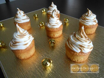 Cupcakes au citron meringués