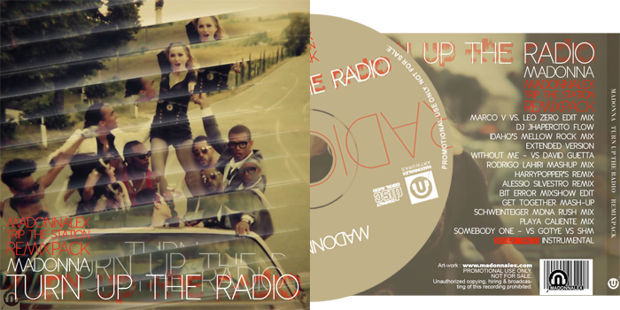 Madonna - Turn Up The Radio - Trip The Station RemixPack