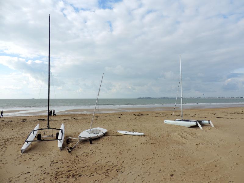 Sur la plage ce matin...