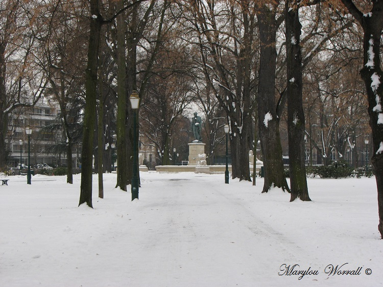 Un jour d'hiver en 2010