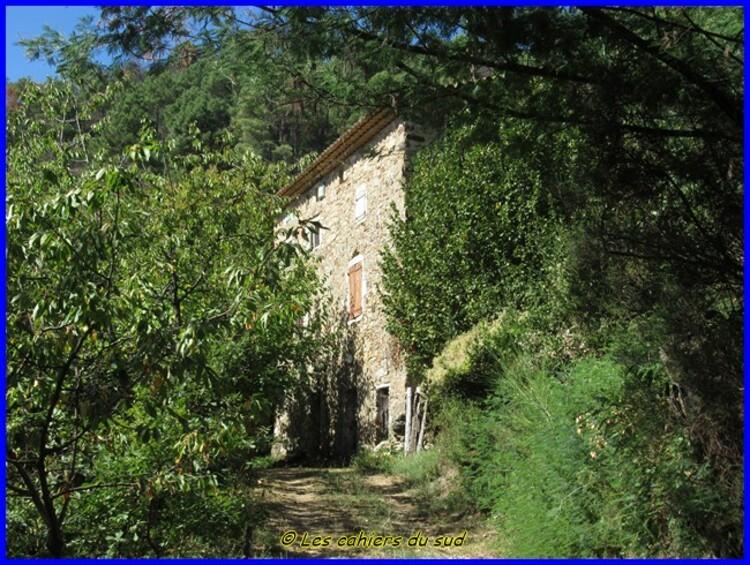 St Jean du Gard, le pic d'Arbousse