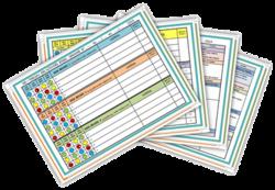Cahier journal et Tableau des activités ATSEM