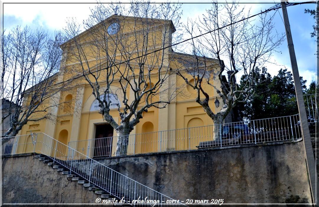 Eglise Saint-Erasme - Dans les rues d'Erbalunga - Corse