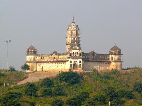 Lakshmi temple à Orccha