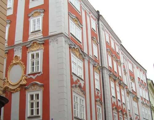 Façades, Prague.