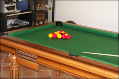 un billard de salon