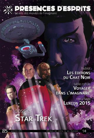 Présences d'Esprits # 85 - automne 2015 (fanzine)