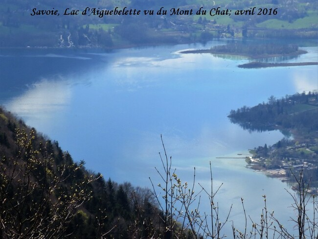 La montagne, février et avril 2016 Savoie