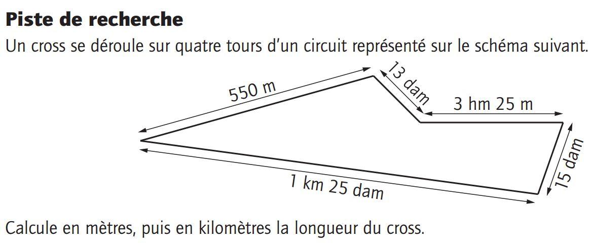 périmètre cercle cm2 exercices