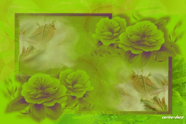 design vert tendre