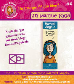 PAPETERIE ANGÈLE / MARQUE PAGE