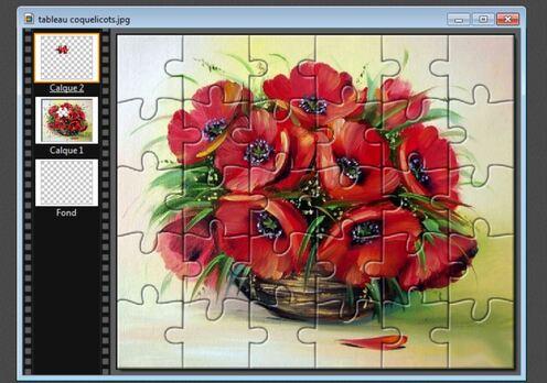 un puzzle très réaliste