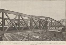 Les ponts de la Goutte d'Or : 1. le pont Jean-François Lépine