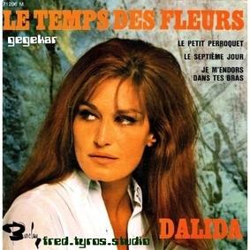 Le temps des fleurs de ..Dalida
