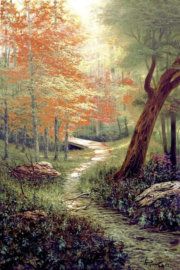 Peinture de : Egidio Antonaccio
