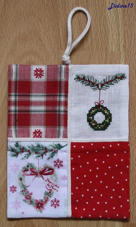 SAL cartes de voeux - étiquettes cadeaux : M-11