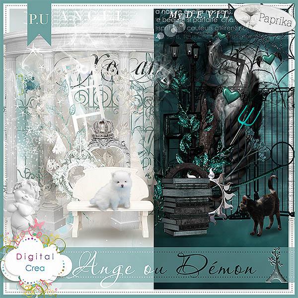 """""""Ange ou Démon"""" by Paprika"""