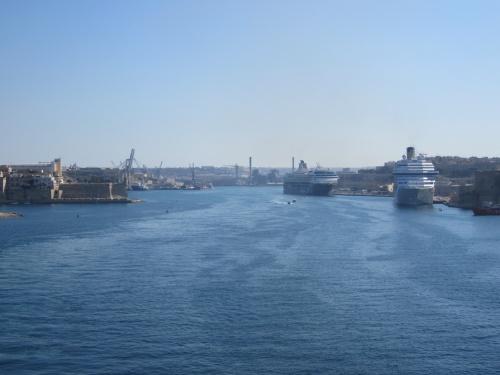 Nous revenons d'une croisière en Méditerranée