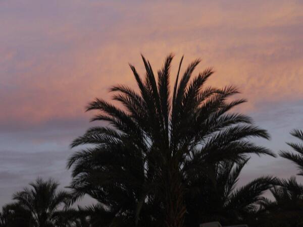 Le ciel prend des teintes agréables