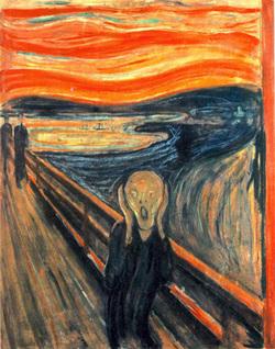 """""""Le cri"""" de Munch"""