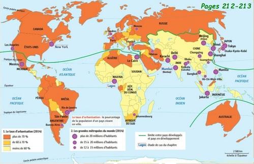 Les métropoles et leurs habitants
