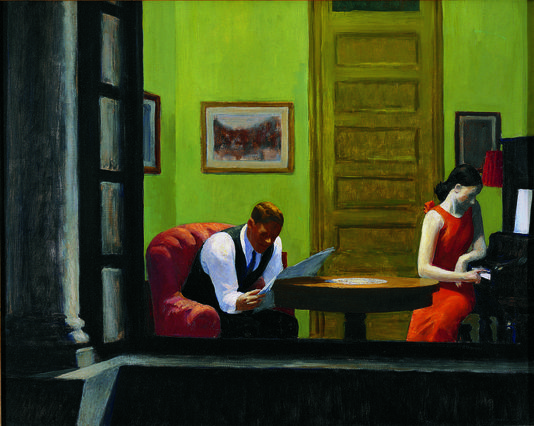 Samedi - Edward Hopper le peintre de la solitude