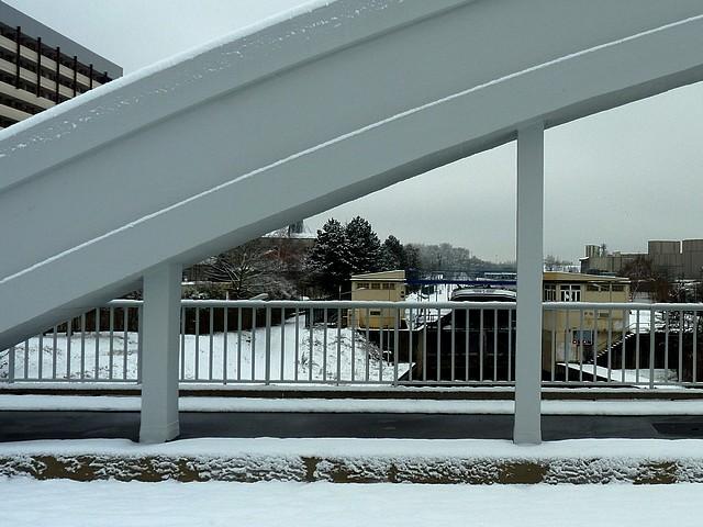 Metz le pont Héblé sur la Moselle 14 Marc de Metz 24 01 2