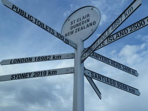 En route pour la ville de Dunedin